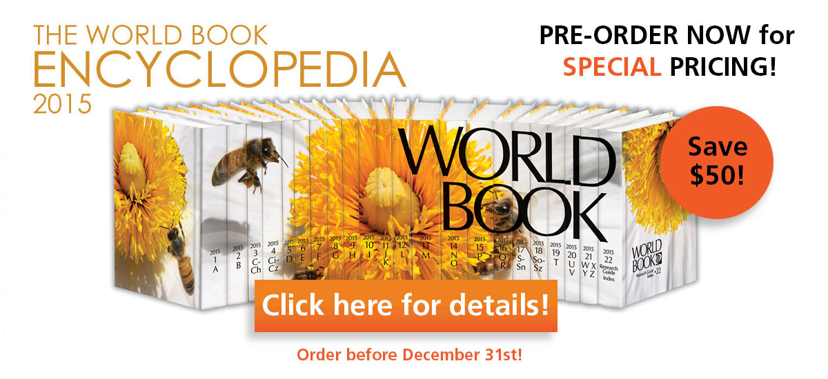 World Book Encyclopedia 2015