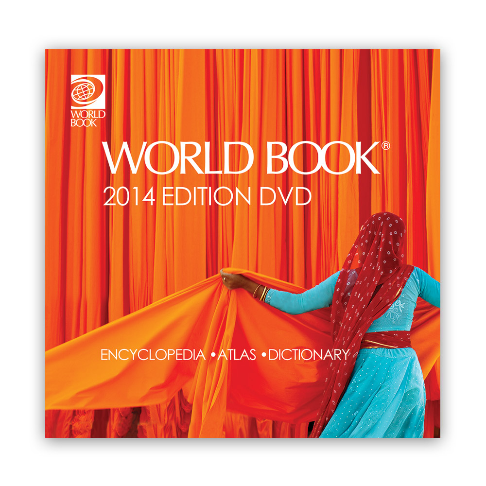 World Book Encyclopedia DVD 2014 - 10588