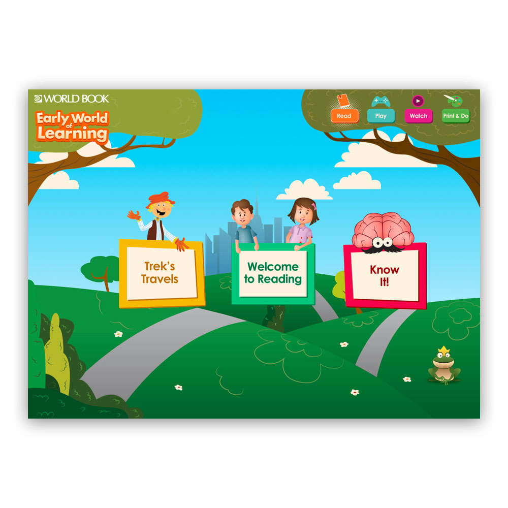 World Book Kids and Early World of Learning- 1 Year Subscription - O80HY1
