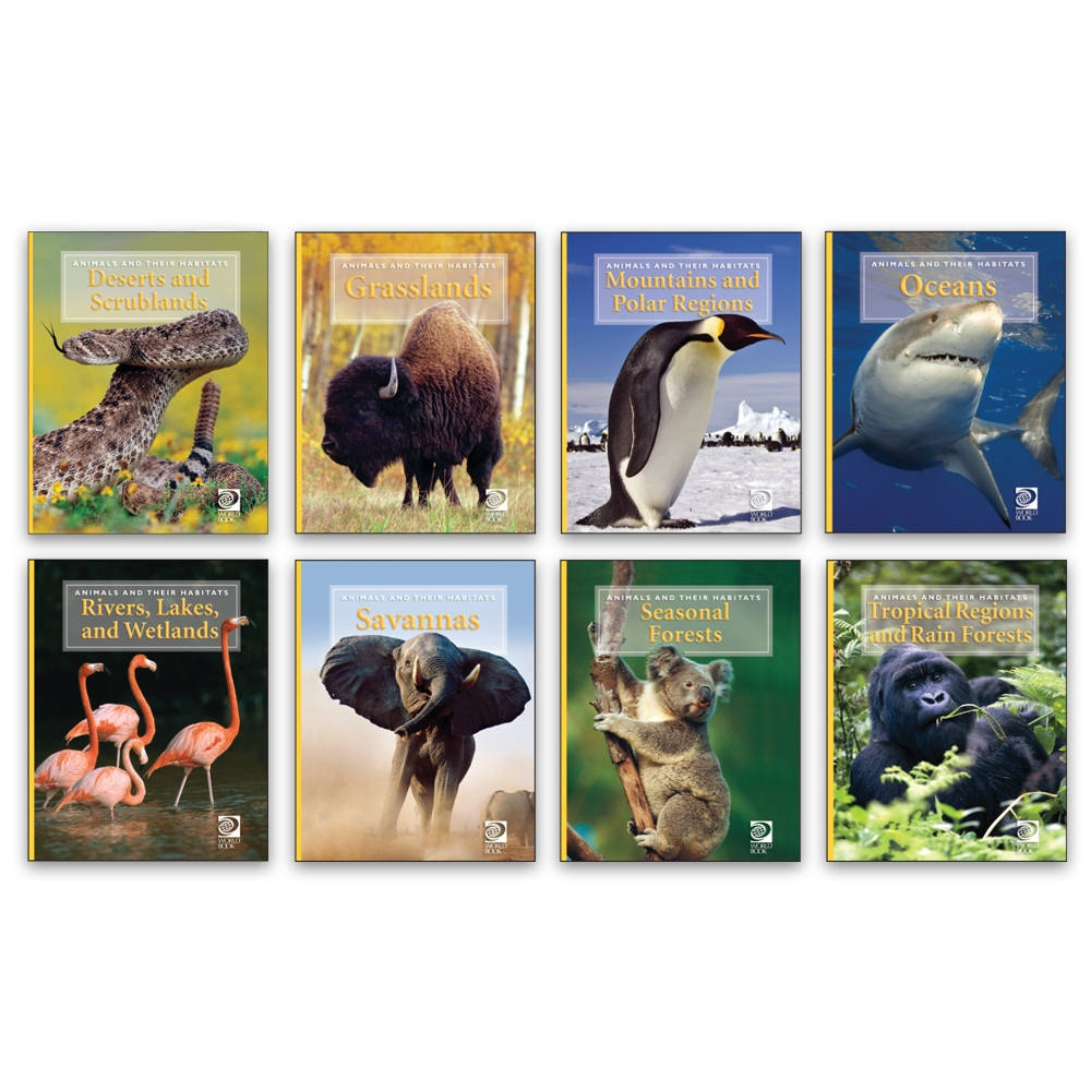 Animals and their Habitats - 20292