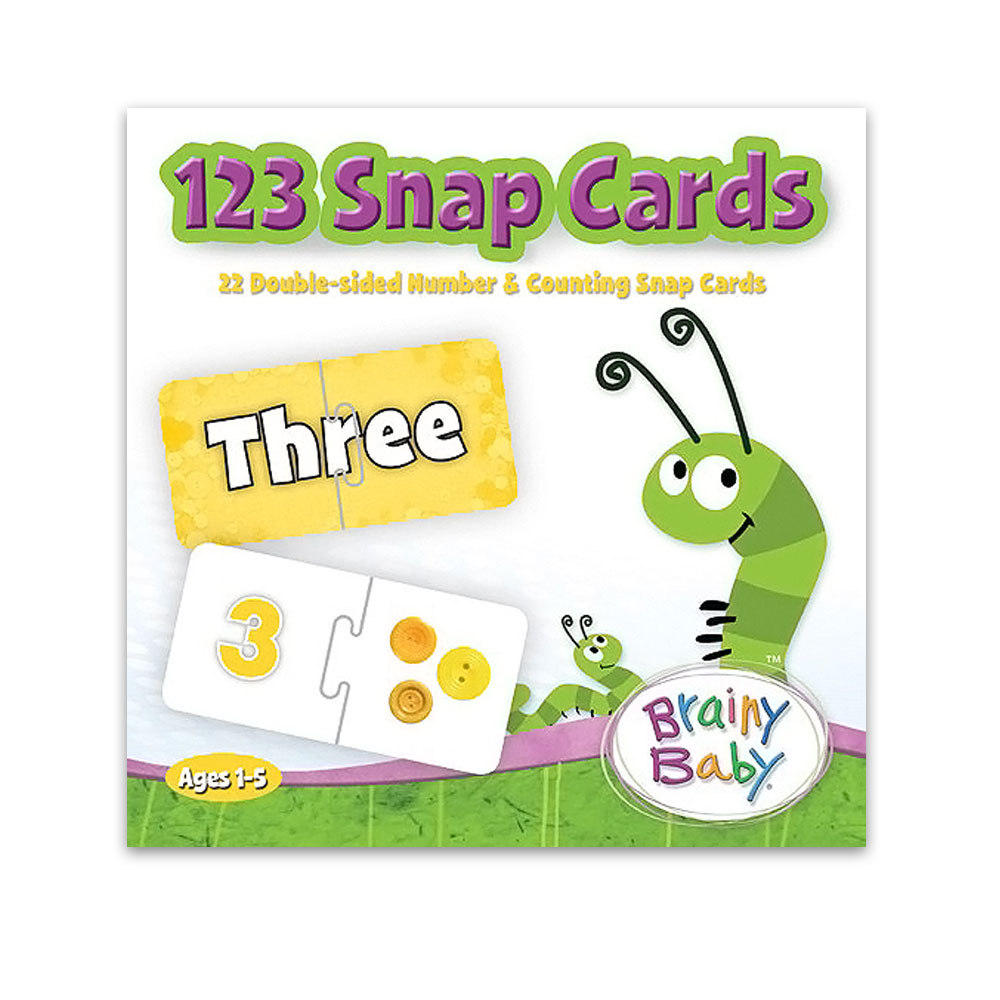Brainy Baby® 123 Snap Cards