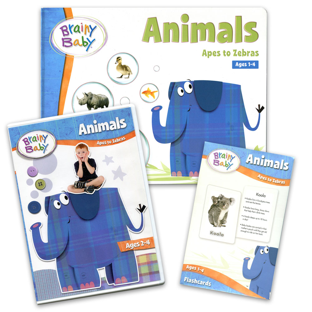 Brainy Baby® Animals Bundle